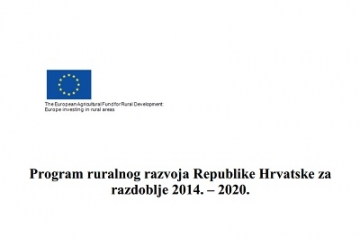 Odobren Program ruralnog razvoja 2014-2020.